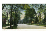 Syracuse  New York - View Down West Genesee Street