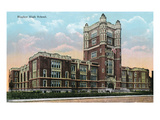 Cincinnati  Ohio - Hughes High School Exterior