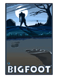 Bigfoot at Night