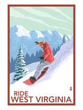 West Virginia - Snowboarder