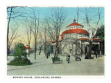 Cincinnati  Ohio - Zoological Gardens Monkey House