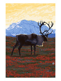 Caribou and Mountain