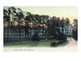 Deland  Florida - College Arms Exterior View