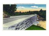 North Carolina - Blue Ridge Parkway  View of a Stone Bridge