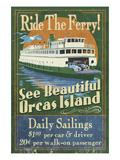 Orcas Island  Washington - Ferry Ride