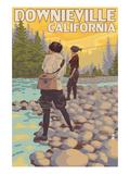 Downieville  California - Women Fishing