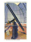Lake Geneva  Wisconsin - View of the Yerkes Observatory Telescope