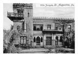 St Augustine  Florida - Villa Zorayda Exterior View