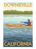 Downieville  California - Kayak Scene