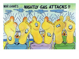 War Games  Nightly Gas Attacks  Soldiers with Smelly Feet