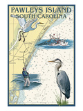 Pawleys Island  South Carolina - Nautical Chart