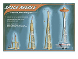 Seattle  Washington - Space Needle Construction Timeline