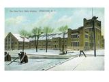 Syracuse  New York - NY State Armory Exterior View