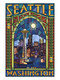 Stained Glass Window - Seattle  WA