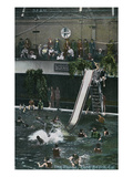 Long Beach  California - View of the Plunge and Slide