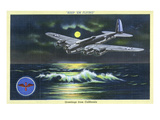 California - Keep 'em Flying  WWII Aviation Promotion