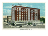 Fond Du Lac  Wisconsin - Hotel Retlaw Exterior