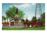 St Joseph  Michigan - Scenic View of the Firemen's Monument