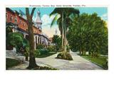 Tampa  Florida - Tampa Bay Hotel Promenade Scene