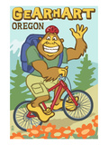 Bigfoot Bicyle in Oregon - Gearhart  OR