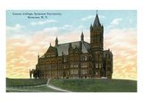 Syracuse  New York - Syracuse University  Crouse College View