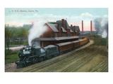 Sayre  Pennsylvania - Lehigh Valley Railroad Station