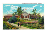 Los Angeles  California - Exposition Park  Exterior View of Museum