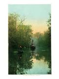 Florida - Boats on the Ocklawaha River