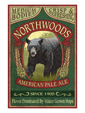 Northwoods  Maine Black Bear Ale