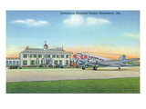 Birmingham  Alabama - View of the Municipal Airport