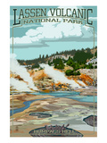 Bumpass Hell - Lassen Volcanic National Park  CA