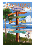 Charleston  South Carolina - Destination Signs