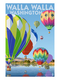 Hot Air Balloons - Walla Walla  Washington