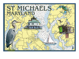 St Michaels  Maryland - Nautical Chart