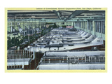 San Diego  California - Interior View of Consolidated Aircraft Corp Plant