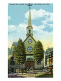 Quebec  Canada - Church of Notre Dame of Victory Exterior