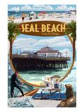 Seal Beach  California - Montage Scenes