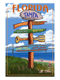 Tampa  Florida - Sign Destinations