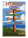 Tampa  Florida - Sign Destinations