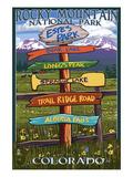 Estes Park  Colorado - Sign Destinations