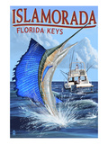 Islamorada  Florida Keys - Sailfish Scene