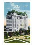 Winnipeg  Manitoba - Fort Garry Hotel Exterior