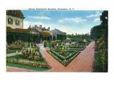 Rochester  New York - George Eastman's Gardens