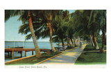 Palm Beach  Florida - View of the Lake Front