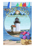 Cape Cod  Massachusetts - Montage