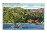 Santa Catalina Island  California - St Catherine Hotel View from Water