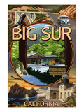 Big Sur  California - Montage Scenes