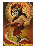 Dia De Los Muertos Marionettes - New Orleans  Louisiana