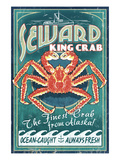 Seward  Alaska - King Crab