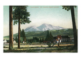 Sisson  California - View of Mt Shasta  Now Mt Shasta City